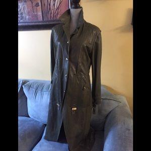 Vintage Dior leather jacket